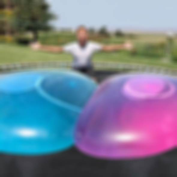 AHOME7 - Amazing Inflatable Transparent Tearproof Bubble & Water Ball(Five colors & Four size)