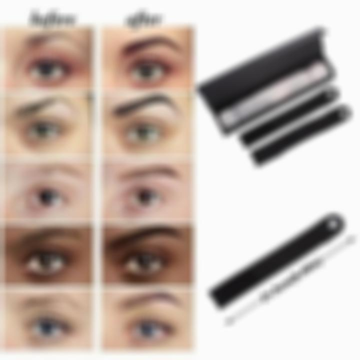 Kisslay Different Shapes Perfect Eyebrow Stencil Strap-12 Reusable Head Strap