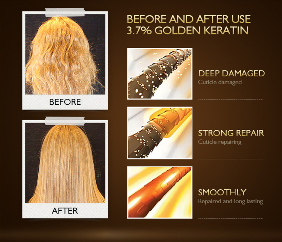 Keratin Intense Conditioner For Frizz Free Straightened Hair