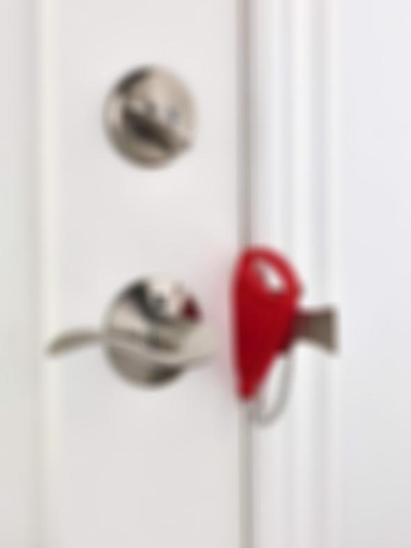 Security lock - to protect women living independently