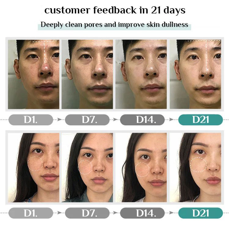 received customers feedback of Facial Mask Stick