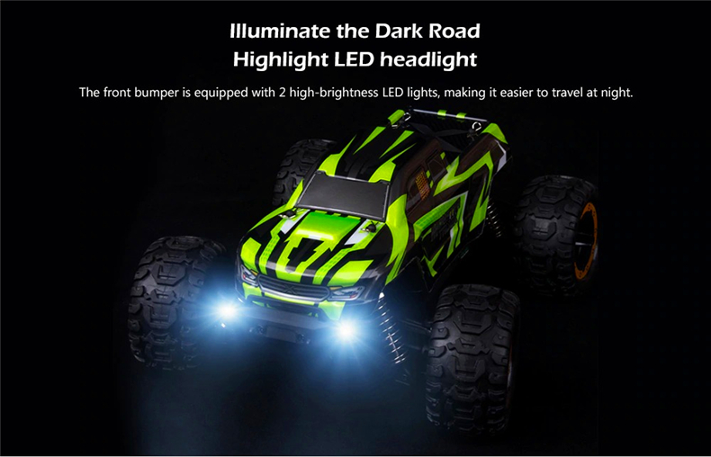 SG-1601 2.4G 1/16 45km/h Brushless Remote Control Car High Speed Fast RC Truck