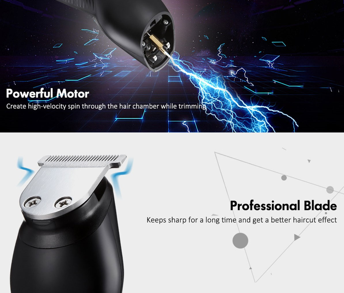 11-in-1 Electric Hair Clippers