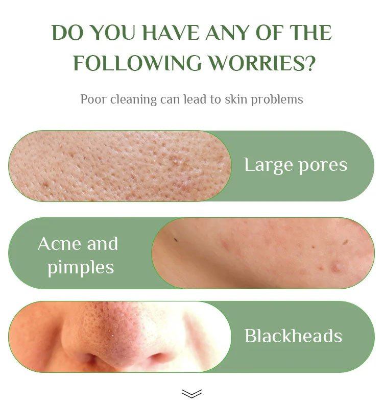Poor cleaning can lead to skin problems