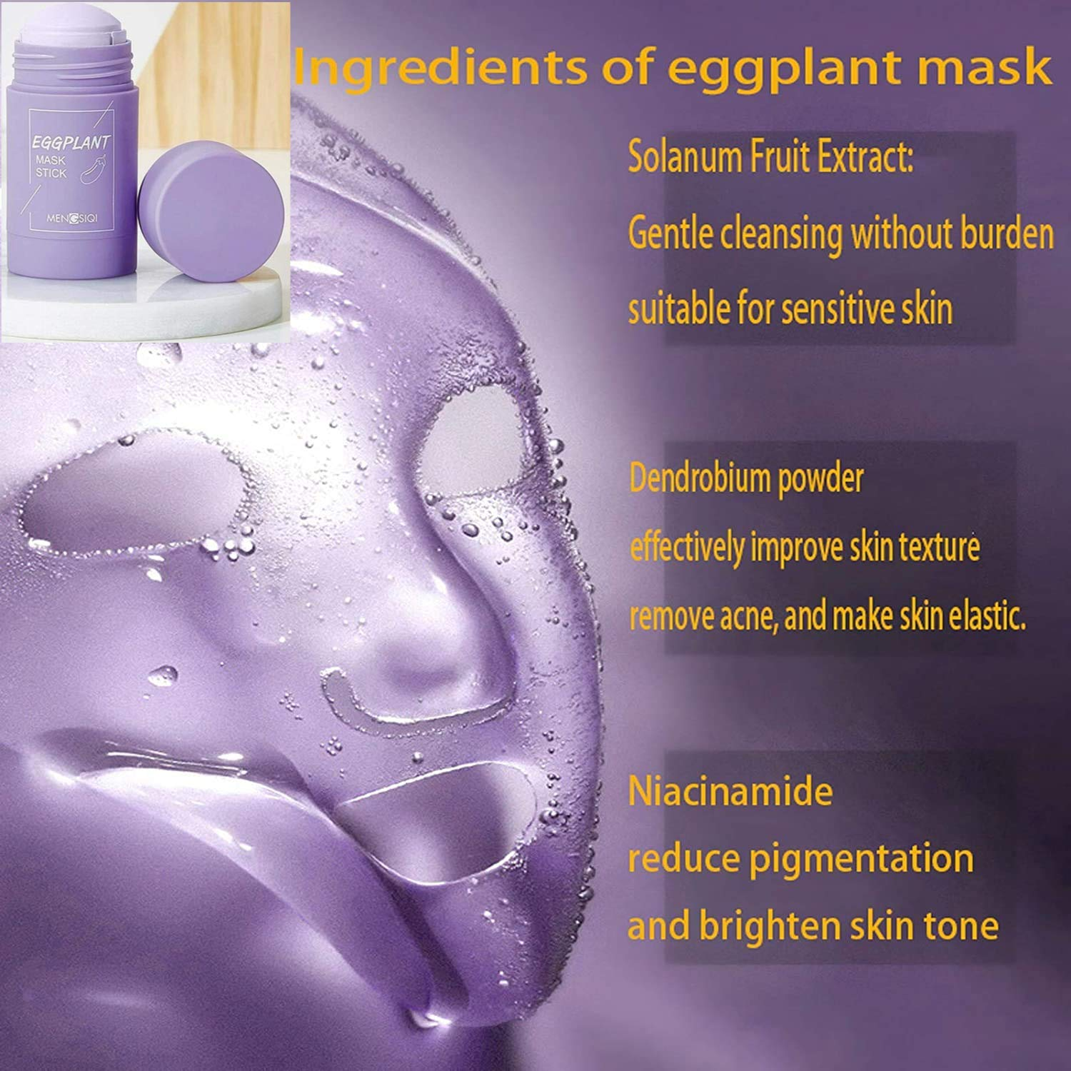 Ingredients of Cleansing Facial Mask
