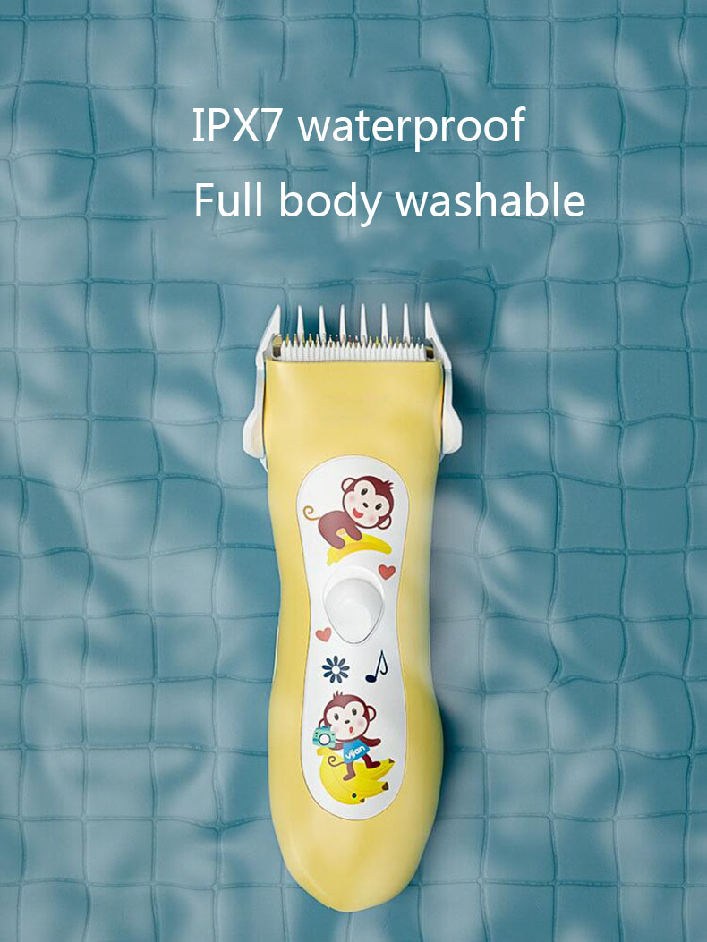 Professional Waterproof Baby Hair Clipper